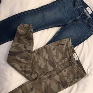 Two pairs of kids 11/12 Abercrombie pants.
